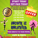 Earn extra income from home